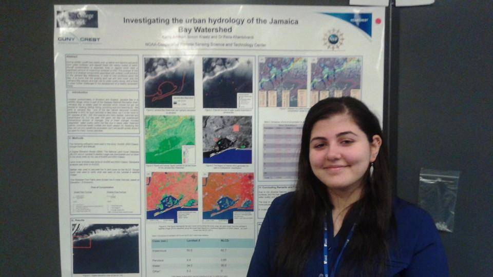 Kathy Ammari Received the Best Poster Award at the Emerging Researchers National Conference