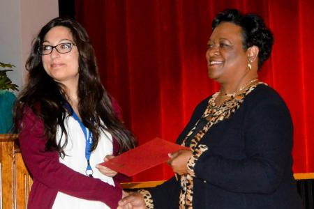 Three CREST Students Won First Place for Oral Presentations