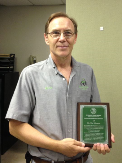 Eric Harmsen Recognized as a Distinguished Researcher