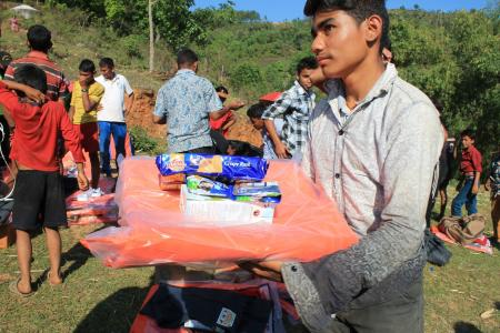 CREST Scientists aids Nepal Quake disaster