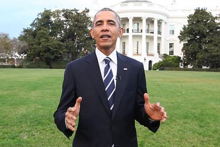 President Barack Obama addresses climate change in first Facebook video