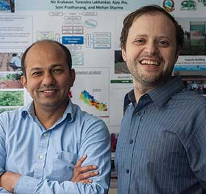 Dr. Tarendra Lakhankar and Dr. Nir Krakauer
